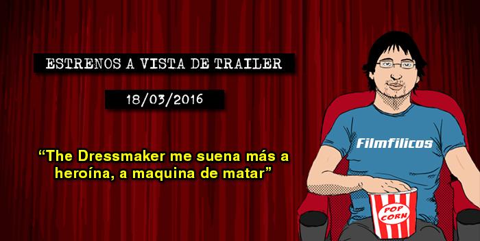 Estrenos de cine (18/03/2016)