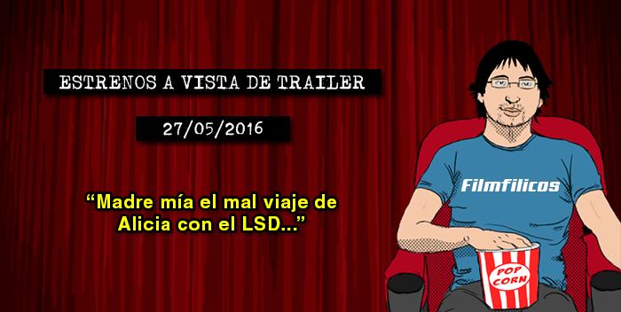 Estrenos de cine (27/05/2016)