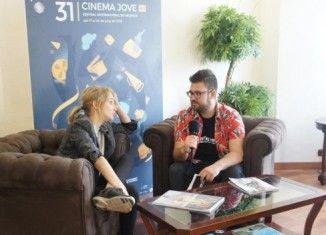 Entrevista Ingrid Garcia-Jonsson en el 31 Cinema Jove