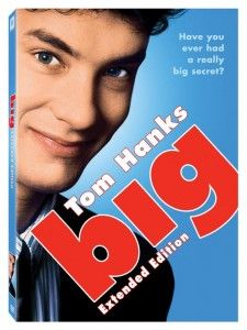 Big Extended Edition Tom Hanks DVD (Large)