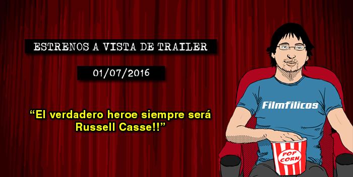 Estrenos de cine (01/07/2016)