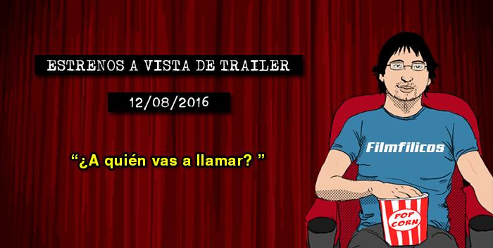 Estrenos de cine (12/08/2016)