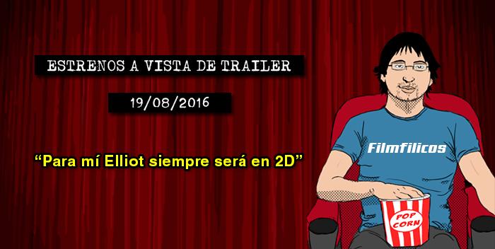 Estrenos de cine (19/08/2016)