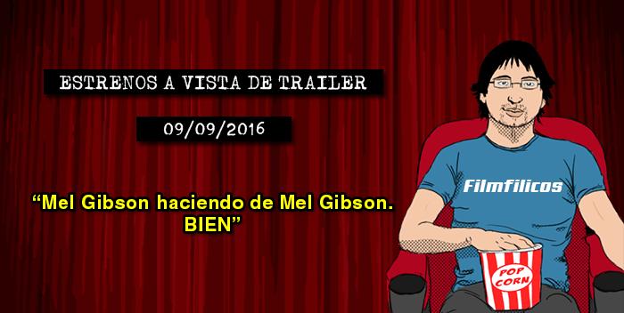 Estrenos de cine (09/09/2016)