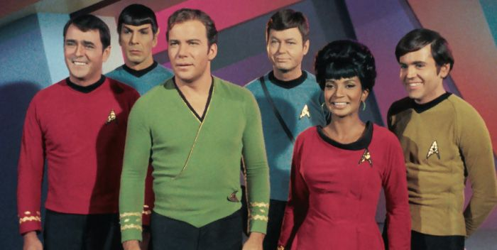 Infografía de la serie Star Trek