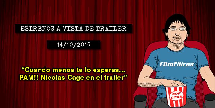 Estrenos de cine (14/10/2016)