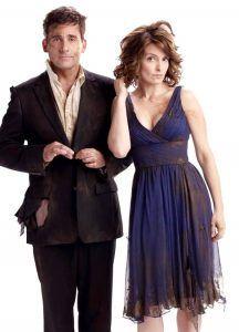 Steve Carell y Tina Fey en Noche loca