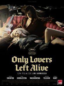 Solo los amantes sobreviven - filmfilicos blog de cine