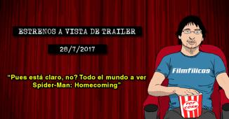 Estrenos de cine (28/7/2017)