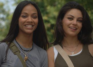 After sex (2007) con Zoe Saldana y Mila Kunis
