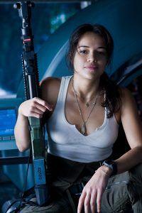 Michelle Rodriguez en Avatar