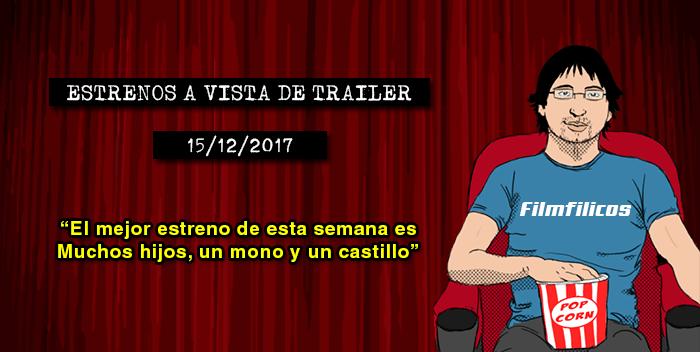 Estrenos de cine (15/12/2017)