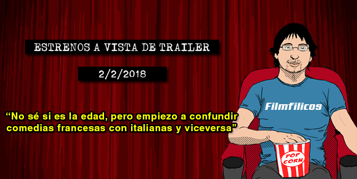 Estrenos de cine (2/2/2018)