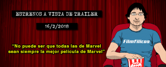 Estrenos de cine (16/2/2018)