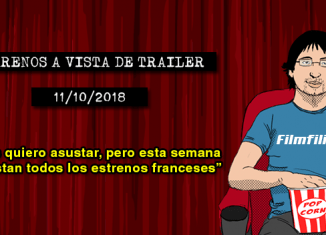 Estrenos de cine (11/10/2018)