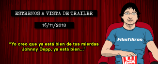 Estrenos de cine (16/11/2018)