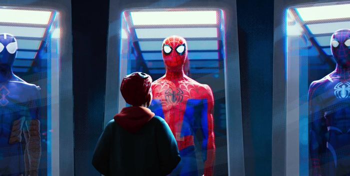 Spider-man into the spider-verse++