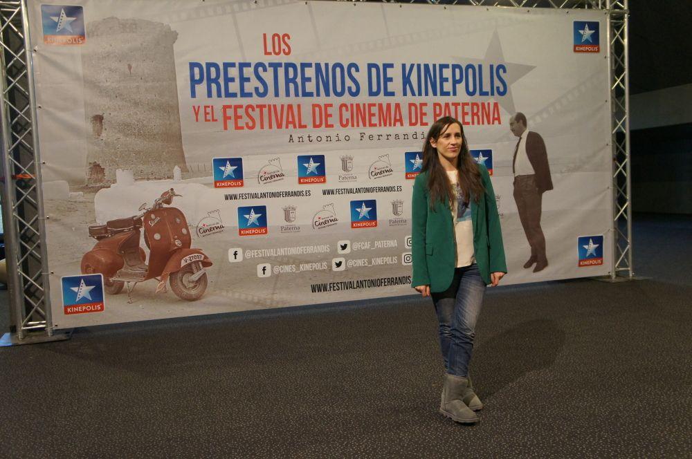 Juana Macías, directora de la película Bajo el mismo techo