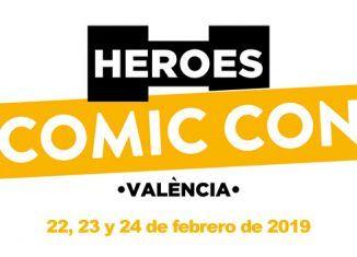 Heroes Comic Con Valencia 2019