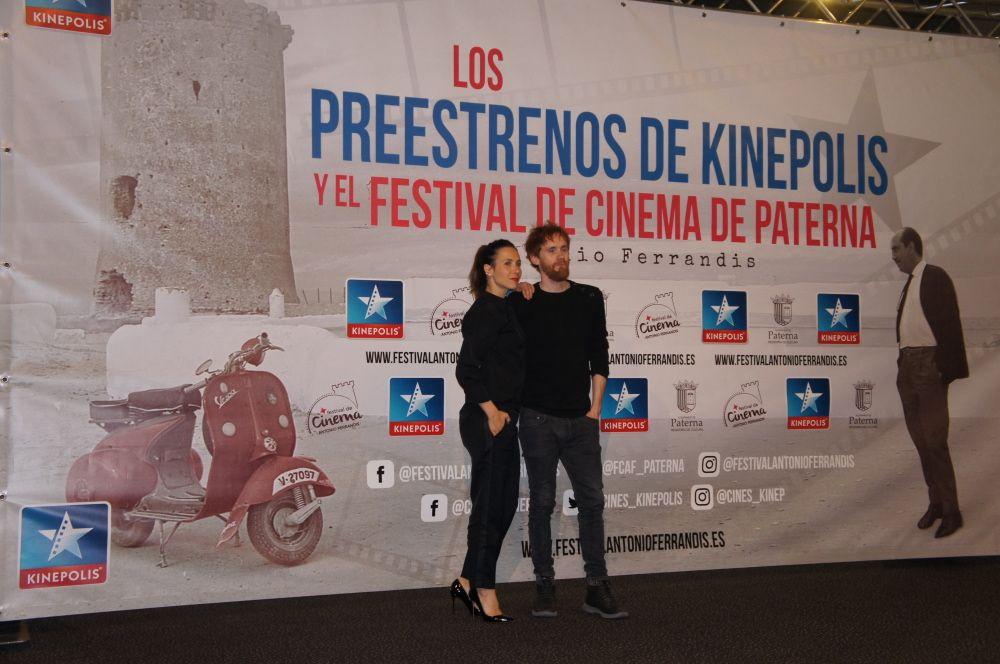 Bárbara Goenaga, y Daniel Pérez Prada en 70 binladens