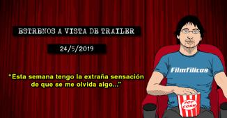 Estrenos de cine (24/5/2019)