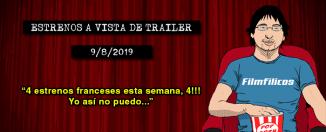 Estrenos de cine (9/8/2019)