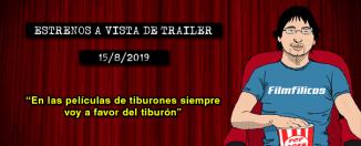 Estrenos de cine (15/8/2019)