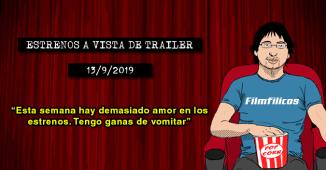Estrenos de cine (13/9/2019)