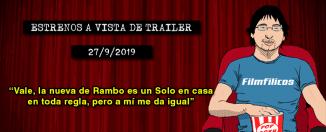 Estrenos de cine (27-09-2019)