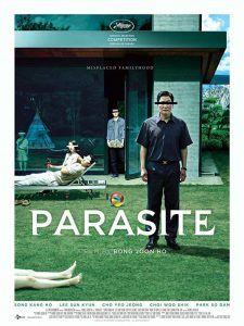 Poster de la película Parasite (Parásitos), filmfilicos blog de cine.
