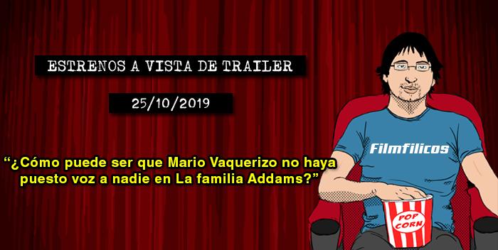 Estrenos de cine (25/10/2019)