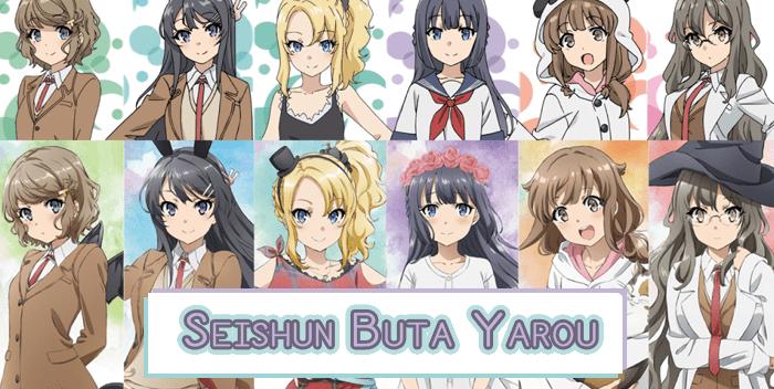 Seishun Buta Yarou - Serie anime