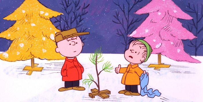 Especiales navideños animados - Charlie Brown