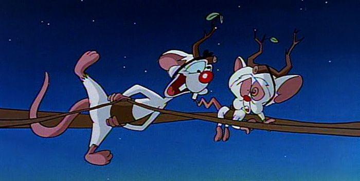 Especiales navideños animados - Pinky y Cerebro