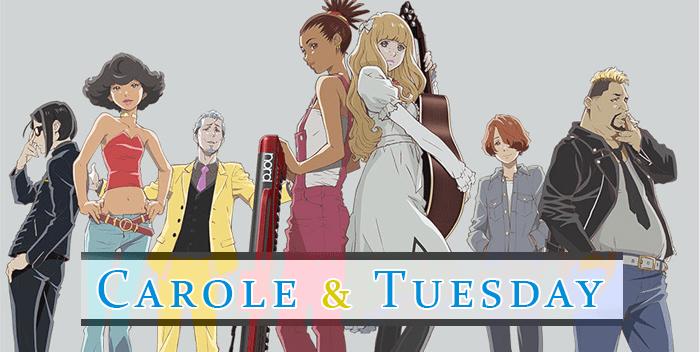 Carole & Tuesday   Serie anime