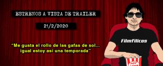 Estrenos de cine (21/2/2020)