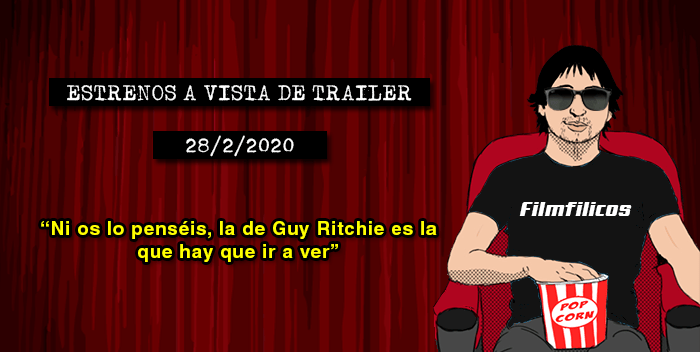 Estrenos de cine (28/2/2020)