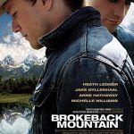 Póster película Brokeback mountain 2005