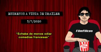 Estrenos de cine (3/7/2020)