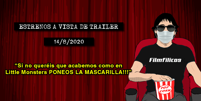 Estrenos de cine (14/8/2020)