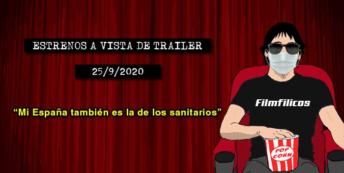 Estrenos de cine (25/9/2020)
