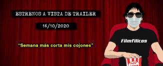 Estrenos cine (16/10/2020)