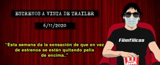 Estrenos de cine (13/11/2020)
