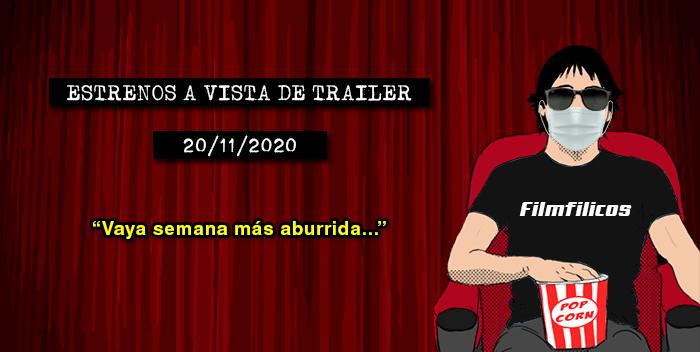 Estrenos de cine (20/11/2020)