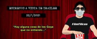 Estrenos de cine (22/1/2020)
