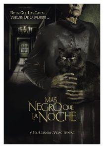 Poster de la película Más negro que la noche 2014, Filmfilicos blog de cine